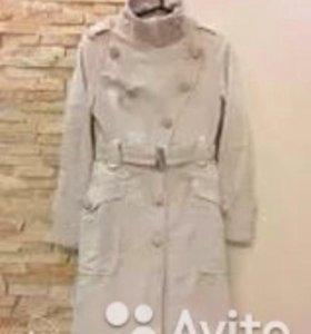 Плащ-пальто Манго в хорошем состоянии