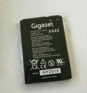 Аккумулятор для телефона Сименс гигасет 780/400