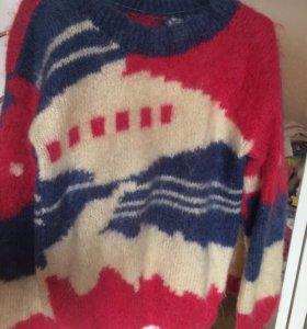 Винтажный оверсайз свитер