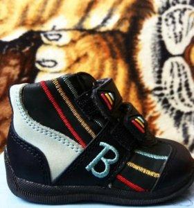 """Детские ботиночки р.19 """"Бамбини""""."""