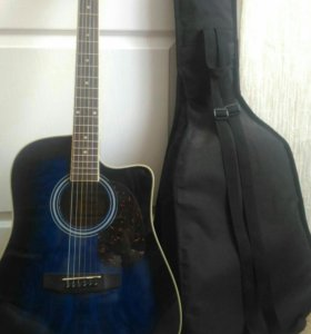 Гитара, с чехлом