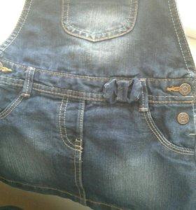 Продам джинсовый сарафан на весну!