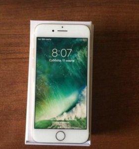 Белый 7 айфон новый, replik 64gb