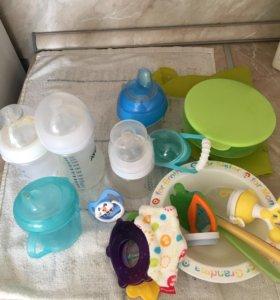 Детская посуда от 0 до 1,5
