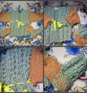 кофта и носки на 1-5 месяцев