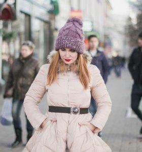 Пальто в стиле odri, с расклешенной юбкой
