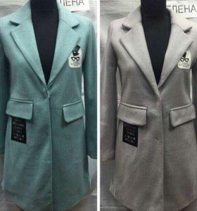 Новый пиджак- пальто и куртка