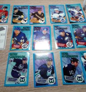 Коллекция хоккейных карточек