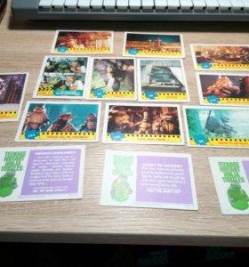 Коллекция карточек Черепашки Ниндзя