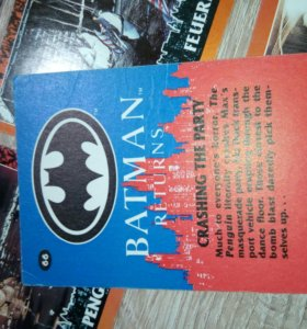 Коллекция карточек Бэтмен