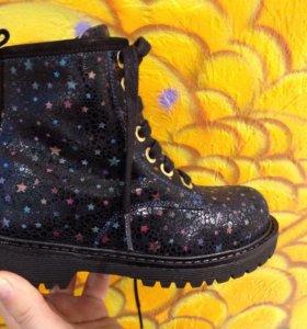 Новые ботинки Тифлани