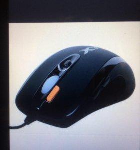 Мышь проводная,лазерная игровая A4Tech XL 750MK