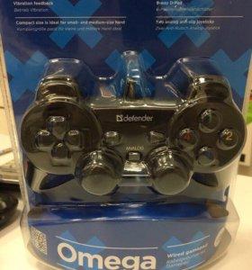 Defender Omega игровой джойстик для ПК, гарантия