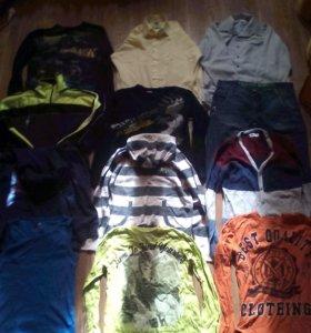 Пакет фирменной одежды на мальчика 10-12 лет