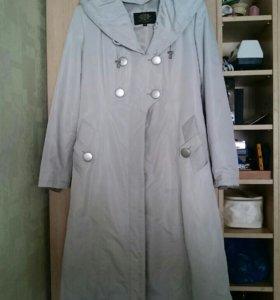 Пальто с меховой подстежкой