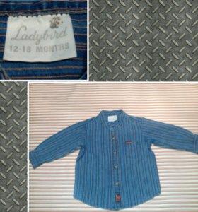 Рубашка 12-18мес