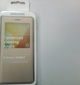 Чехол книга на Galaxy Note7