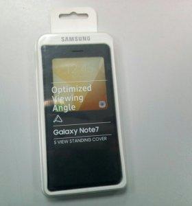 Чехол книга на Самсунг Galaxy Note7
