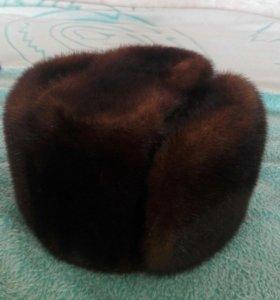 Норковая шапка р 56