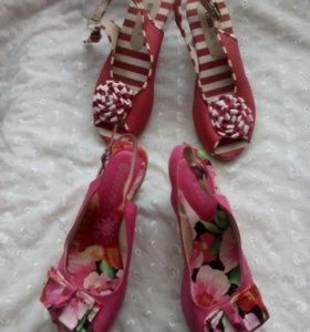 Обувь ( Босоножки раз.36-36,5)