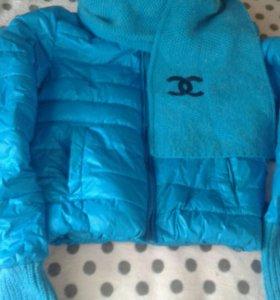 Укороченная фирменная куртка