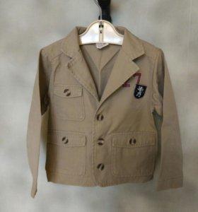 Пиджак для мальчика 3-4 года
