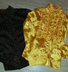 Пакет вещей (блузки, юбки, кофты)