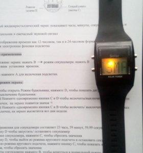 Часы solar power