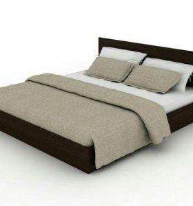 Кровать с матрасом МАРС 160х200