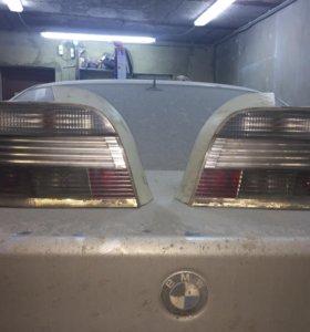 Фонари задние на БМВ е39