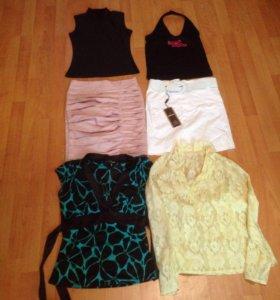 Пакетом женская одежда 40-42