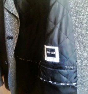 Шерстяное демисезонное пальто Риттер
