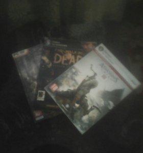 Три игровых сиди диска