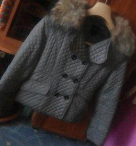 Курточка с мехом