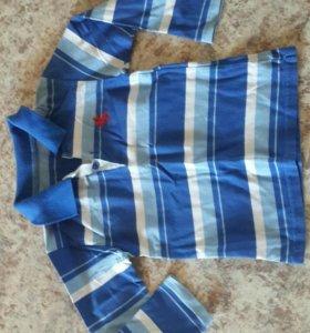Рубашка для мальчика 3-6лет х/б