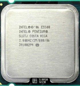 Процессор Intel® Pentium® Processor E5500 2 ядра