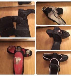 Обувь 5 пар р 37
