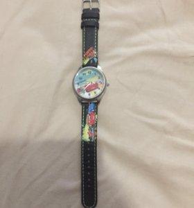 Часы для мальчика Тачки