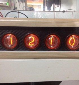 Самодельные часы на газоразрядных индикаторах