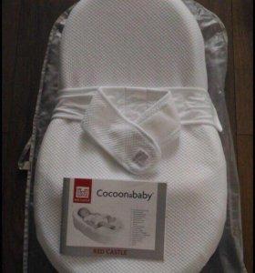 Эргономичный матрасик CocoonaBaby оригинал RedCasl