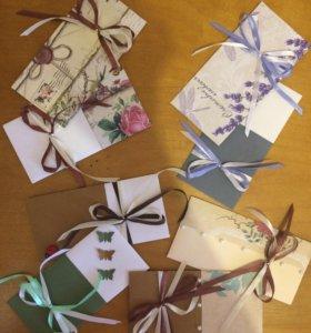 Подарочные конверты под деньги
