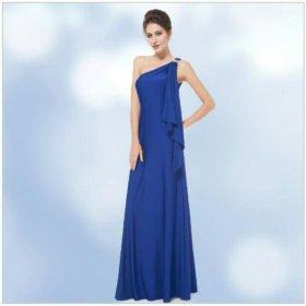 Платье синее, новое