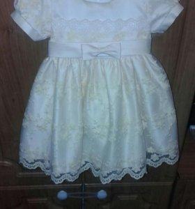 Платье детское ( 12 месяцев )