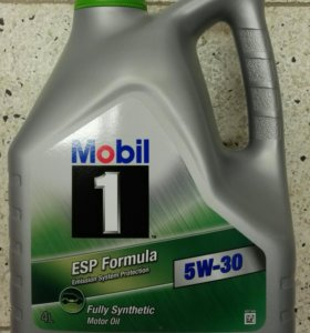 Масло ESP Formula 5w-30 Mobil-1 4л.