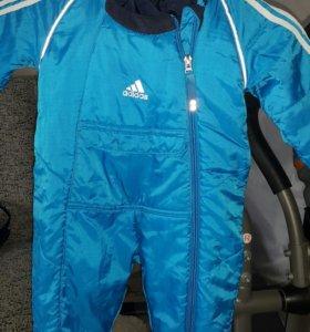 Комбинезон на весну Adidas 0-3 месяца
