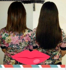 Волосы для наращивания славянка