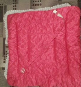 Зимний-весенний конверт(одеяло)на выписку девочки