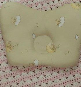 Подушка ортопедическая бабочка новая