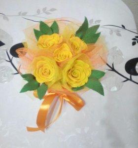 Цветочные композиции ручной работы на заказ