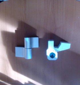 Петли дверные для алюминиевых дверей